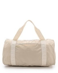 Grand sac en toile beige Bensimon