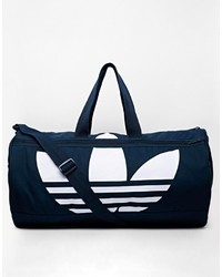 Grand sac en toile bleu marine adidas