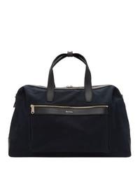 Grand sac en toile bleu marine Paul Smith