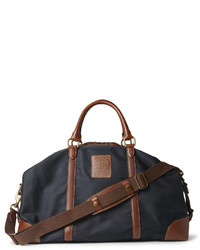 Grand sac en toile bleu marine Polo Ralph Lauren