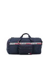 Grand sac en toile bleu marine Tommy Hilfiger