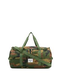 Grand sac en toile camouflage olive Herschel Supply Co.