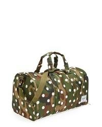 Grand sac en toile camouflage vert foncé