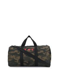 Grand sac en toile camouflage vert foncé Hydrogen