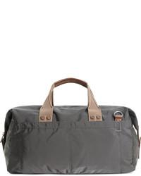 Grand sac en toile gris foncé