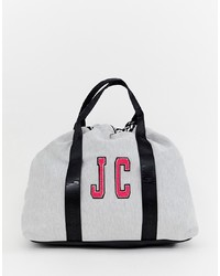 Grand sac en toile gris Juicy Couture