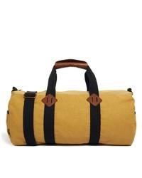 Grand sac en toile jaune Asos