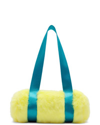 Grand sac en toile jaune Landlord