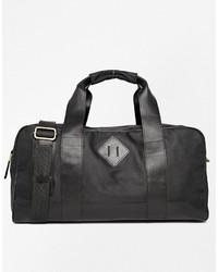 Grand sac en toile noir Asos