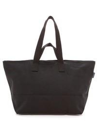 Grand sac en toile noir Baggu