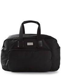 Grand sac en toile noir DSquared