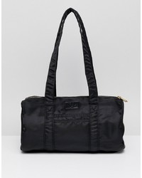 Grand sac en toile noir Fred Perry