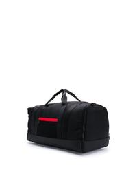 Grand sac en toile noir Moncler