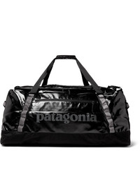 Grand sac en toile noir Patagonia