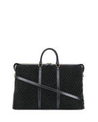 Grand sac en toile noir Saint Laurent