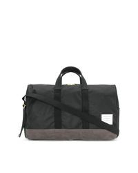 Grand sac en toile noir Thom Browne