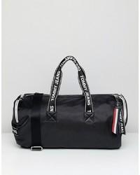 Grand sac en toile noir Tommy Jeans