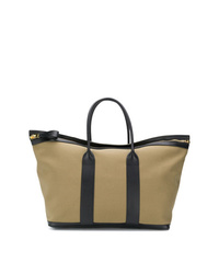 Grand sac en toile olive Tom Ford