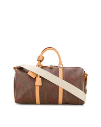 Grand sac imprimé marron Etro
