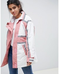 Imperméable blanc ASOS DESIGN