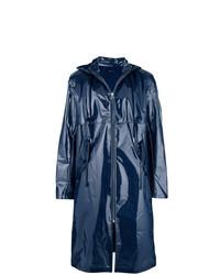 Imperméable bleu marine Helmut Lang