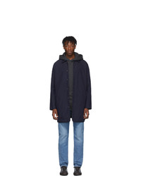 Imperméable bleu marine Levis Made and Crafted