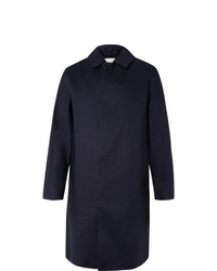 Imperméable bleu marine MACKINTOSH