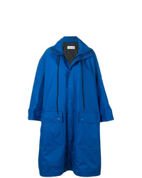 Imperméable bleu Balenciaga