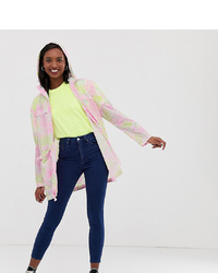 Imperméable multicolore Asos Tall