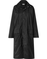 Imperméable noir Balenciaga