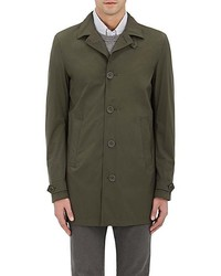 Imperméable olive