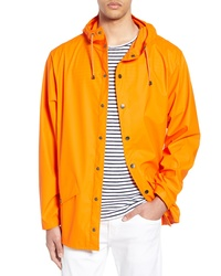 Imperméable orange
