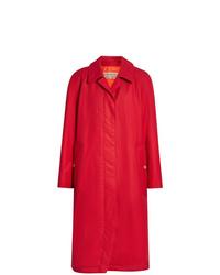 Imperméable rouge Burberry