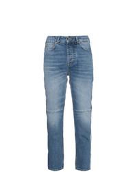 Jean à patchwork bleu clair Golden Goose Deluxe Brand