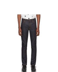 Jean bleu marine Nudie Jeans