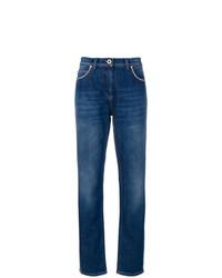 Jean bleu marine Versace