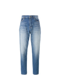 Jean boyfriend bleu clair Saint Laurent
