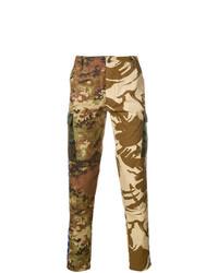 Jean camouflage marron Paura