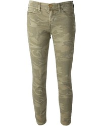 Jean camouflage olive