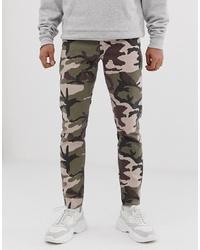 Jean camouflage olive ASOS DESIGN
