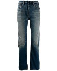 Jean déchiré bleu marine Calvin Klein Jeans