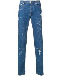 Jean déchiré bleu Givenchy