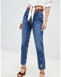 Jean déchiré bleu MiH Jeans