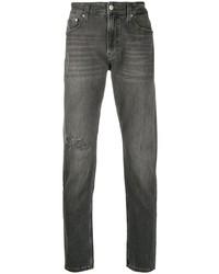 Jean déchiré gris foncé Calvin Klein Jeans