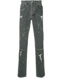 Jean déchiré gris foncé Givenchy