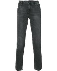 Jean en cuir noir CK Calvin Klein