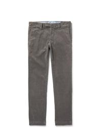 Jean en velours côtelé gris Polo Ralph Lauren