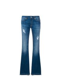 Jean flare bleu Dondup