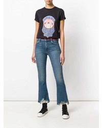 Jean flare bleu Current/Elliott