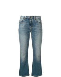 Jean flare bleu Saint Laurent